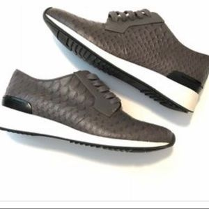 Vince Python Sneakers